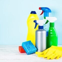 Cleaning and Sanitizing